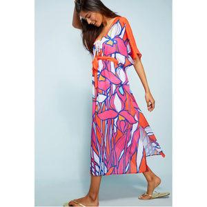 a4c1e29dc1 Anthropologie Dresses - RARE NWT ANTHROPOLOGIE Allihop Floral Caftan Dress